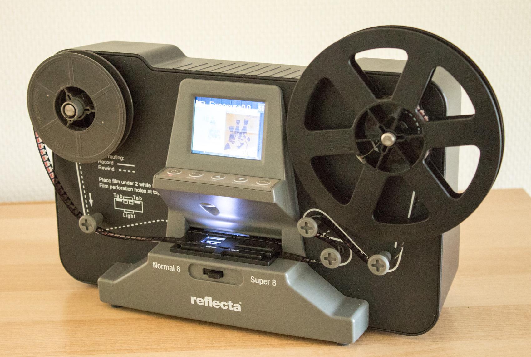 Filmscanner 8 mm 72dpi